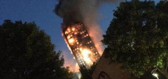 У Лондоні сталася страшна пожежа. ВІДЕО
