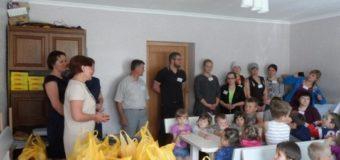 На Волині вихованців дитячого будинку привітали з Днем захисту дітей. ФОТО