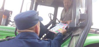 Рятувальники інформують мешканців Луцького району щодо пожежної безпеки