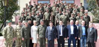 У Луцьку святкує 23-ю річницю з дня створення військова частина 1141. ФОТО