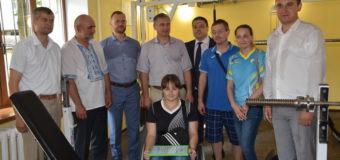 У Луцьку відкрили оновлений тренажерний зал для людей із особливими потребами. ФОТО