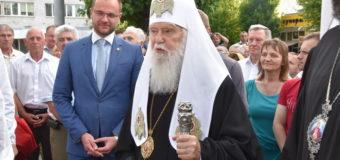 До Луцька прибув Патріарх Київський і всієї Руси-України Філарет. ФОТО