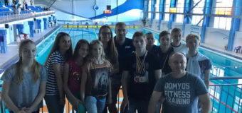 Луцькі плавці взяли участь у чемпіонаті України з плавання. ФОТО