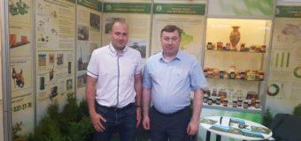 Волинські лісівники беруть участь у Міжнародній агропромисловій виставці. ФОТО