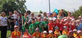 У Луцьку для дітей організували спортивне свято «Веселі старти». ФОТО