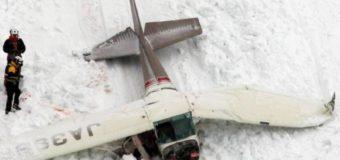 В Японії сталася авіакатастрофа, постраждалі цілий день пролежали в снігу