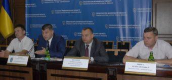 У прокуратурі Волині керівники правоохоронних органів області обговорили стан розкриття кримінальних правопорушень