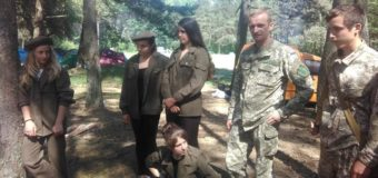 На Волині відбулося військово-патріотичне таборування «Старовижівська Січ». ФОТО