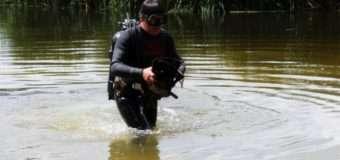 На Волині водолазно-рятувальна група вивчала дно міської річки. ФОТО