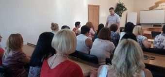 Працівників Луцького міського центру зайнятості вчили протидії торгівлі людьми. ФОТО