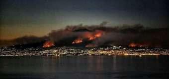 В Італії горить Везувій. Тисячі людей покинули домівки. ФОТО