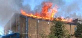 У Лондоні знову згорів будинок