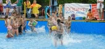 Для юних волинян проводять «Школу плавання». ФОТО