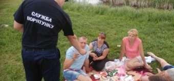 Волинські рятувальники інструктували громадян щодо безпеки на воді. ФОТО