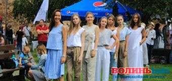 «Grace Model House» показали колекції одягу на «Lutsk Food Fest»