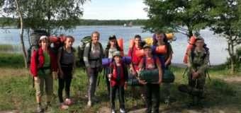 Юні туристи Волині вивчають рідний край у походах. ФОТО