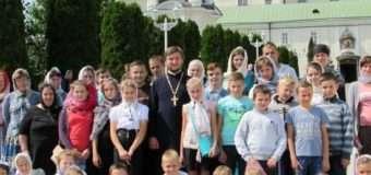 Юні волиняни відвідали Почаївську лавру. ФОТО