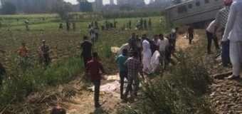 36 осіб загинули і 123 постраждали в результаті зіткнення потягів в Єгипті