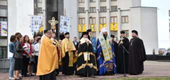 У Луцьку святкування Дня Незалежності розпочали зі спільної молитви. ФОТО