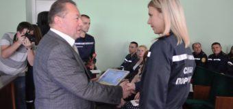 Волинських рятувальників вітали з професійним святом. ФОТО