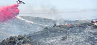 В Каліфорнії не вщухають лісові пожежі