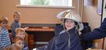 У Луцьку рятувальники вчили правил безпеки дошкільнят. ФОТО
