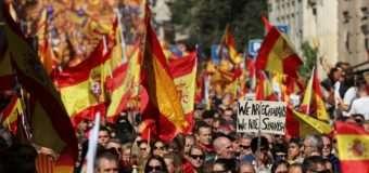 У Барселоні масштабний мітинг проти незалежності Каталонії