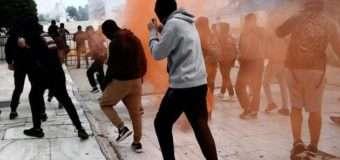Сутички в Афінах: поліція застосувала сльозогінний газ проти школярів й анархістів