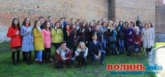 У Луцькому замку студентам-журналістам та видавцям вручили студентські квитки. ФОТО