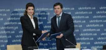Геннадій Зубко і Марина Порошенко підписали меморандум щодо спільного впровадження проектів з інклюзії
