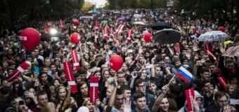 У містах Росії – мітинги на підтримку Навального, є затримані