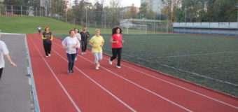 Лучани тестують рівень своєї фізичної підготовки. ФОТО
