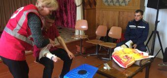 Юних волинян навчали надавати першу долікарську допомогу. ФОТО