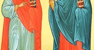 На Волині осв'ятять ікони мучеників Маркіяна та Мартирія, небесних заступників нотаріусів