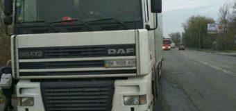 У Луцьку посеред дня затримали нетверезого водія вантажівки