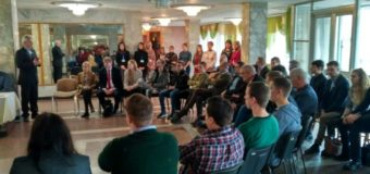 У Луцьку делегації з Німеччини розповіли, як допомагають сім'ям учасників АТО