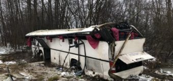 У Литві перекинувся автобус із дітьми: 10 постраждалих