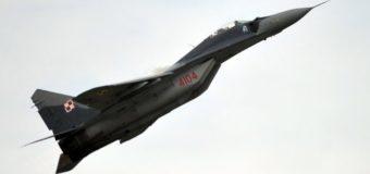 У Польщі впав військовий МіГ-29, пілот вижив