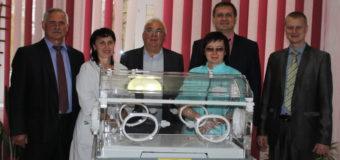 На Волині лікарні подарували обладнання для найменших пацієнтів. ФОТО