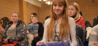 У Луцьку вручили подарунки дітям учасників АТО. ФОТО