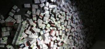 На Волині прикордонники виявили контрабанду сигарет. ФОТО