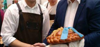 Лучани презентували на ярмарку в Польщі авторський хліб із органічного волинського борошна