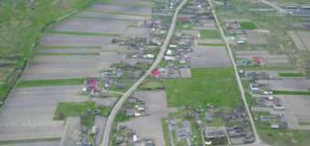 Показали фото мальовничого волинського села з висоти пташиного польоту