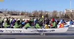 У Китаї відбувся чемпіонат світу з веслування на льоду