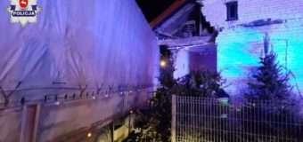 У Польщі українець на вантажівці врізався в стіну будинку і зупинився в кімнаті, де спало троє дітей