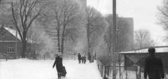Фотограф опублікував знімки засніженого Луцька, зроблені у 1979 році