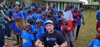 Студент волинського університету майже місяць працював в Африці з вуличними дітьми