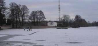 На Волині розчистили майданчик для любительських турнірів гри в хокей