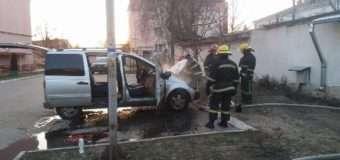 У Луцьку посеред вулиці загорівся автомобіль
