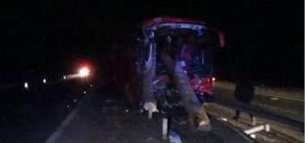 На Житомирщині колоди з лісовоза влетіли у салон автобуса з пасажирами